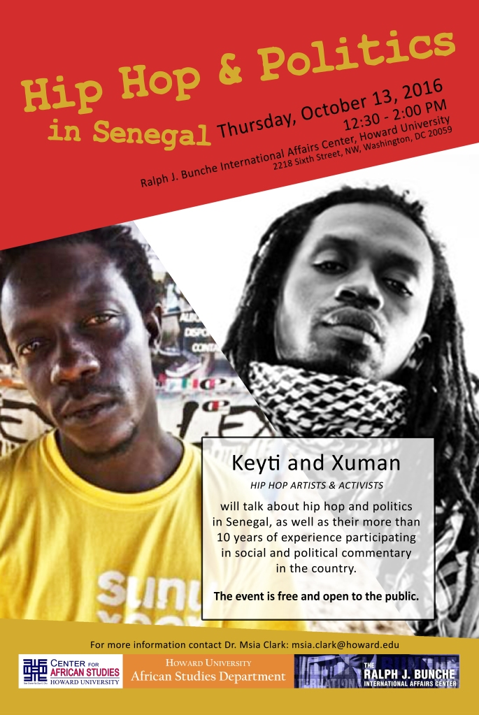 Hip Hop & Politics in Senegal Poster